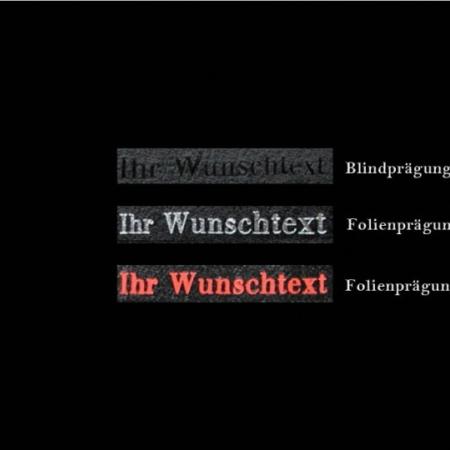 Kellnerhalfter: Schwarz, Rot, Blau, Leder / Art.-Nr. 100361