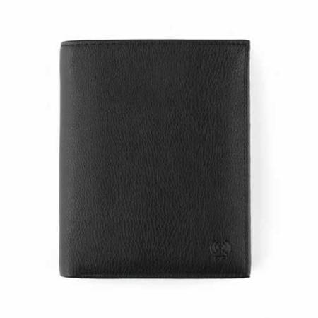 Geldbörse: Schwarz, VEGAN, RFID geschützt / Art.-Nr. 742674002